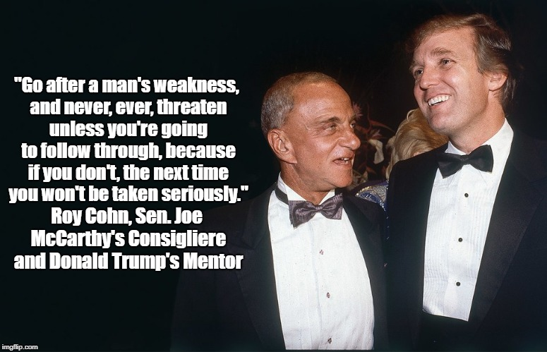 Image result for trump and roy cohn time mag