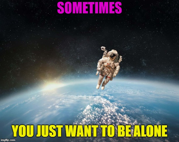 Only for a little while, though | SOMETIMES YOU JUST WANT TO BE ALONE | image tagged in memes,funny,lonely,i farted | made w/ Imgflip meme maker