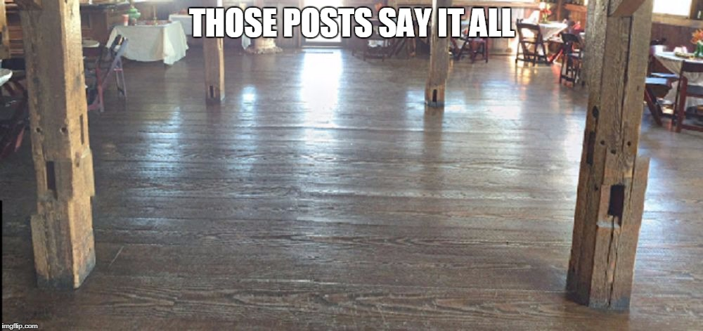 horrified wood | THOSE POSTS SAY IT ALL | image tagged in horrified wood,honey bend il,illinois,usa,forum,troll | made w/ Imgflip meme maker