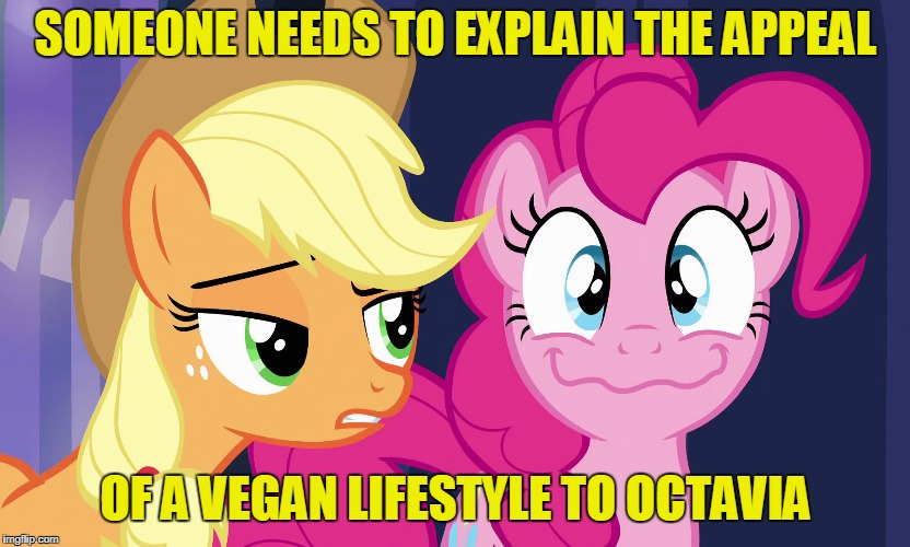 SOMEONE NEEDS TO EXPLAIN THE APPEAL OF A VEGAN LIFESTYLE TO OCTAVIA | made w/ Imgflip meme maker