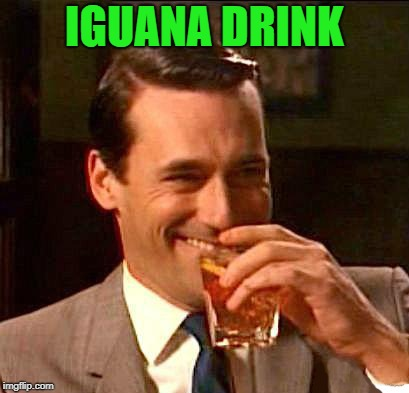 drink | IGUANA DRINK | image tagged in drink | made w/ Imgflip meme maker