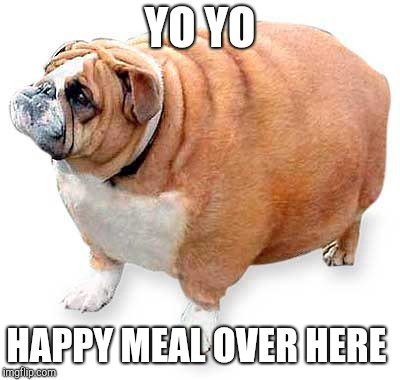 YO YO HAPPY MEAL OVER HERE | made w/ Imgflip meme maker