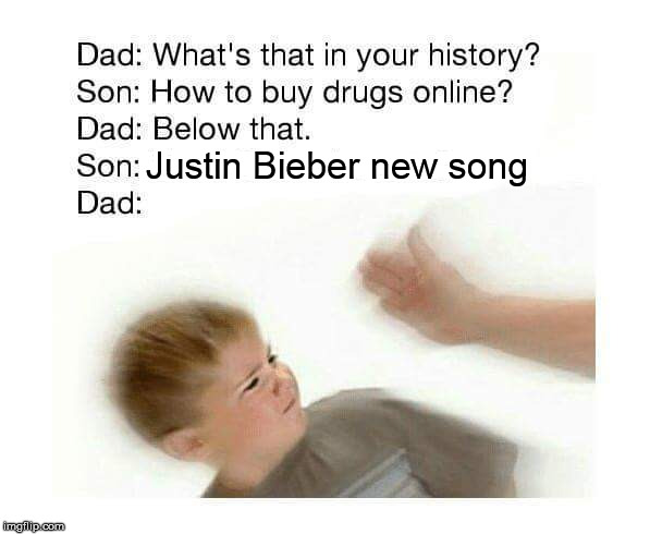 Justin Bieber new song | made w/ Imgflip meme maker