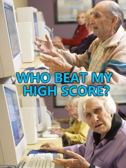 "He's ""PurplePixie"". She's ""SkullCrusherXL"" :) 
