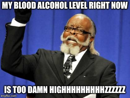 Too Damn High Meme | MY BLOOD ALCOHOL LEVEL RIGHT NOW IS TOO DAMN HIGHHHHHHHHHZZZZZZ | image tagged in memes,too damn high | made w/ Imgflip meme maker