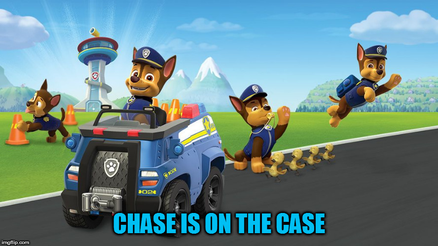 CHASE IS ON THE CASE | made w/ Imgflip meme maker