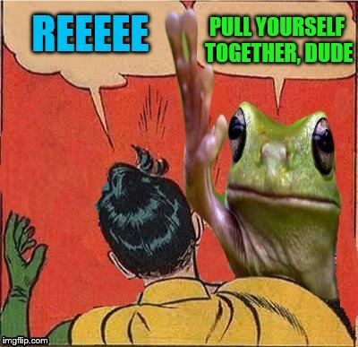 REEEEE PULL YOURSELF TOGETHER, DUDE | made w/ Imgflip meme maker