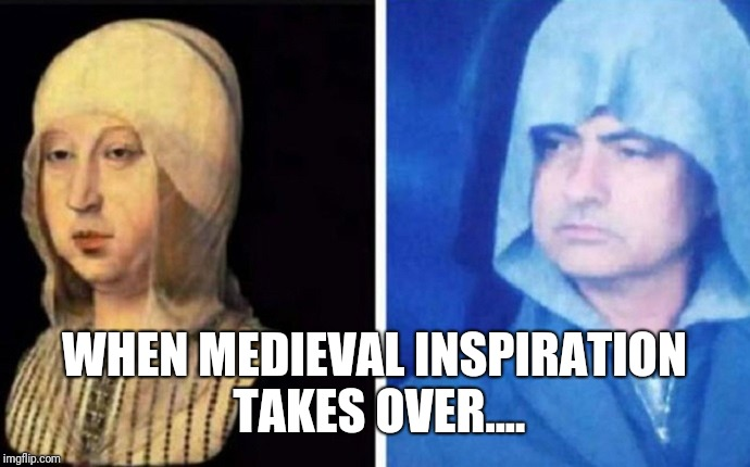 WHEN MEDIEVAL INSPIRATION TAKES OVER.... | image tagged in jose mourinho,buses,parking,medieval,looking good | made w/ Imgflip meme maker