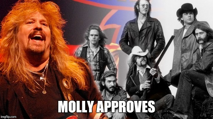 MOLLY APPROVES | made w/ Imgflip meme maker
