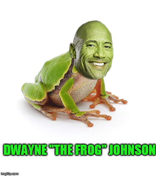 "The Frog | DWAYNE ""THE FROG"" JOHNSON 