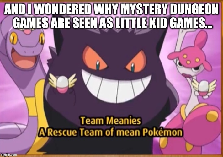 "Yes this is from a real ""ad"". Pokémon mystery dungeon is a really good series that you should go and play if you haven't. 