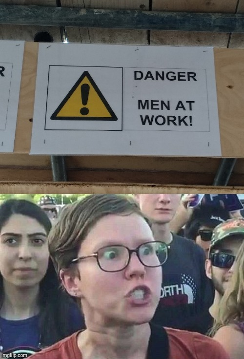 image tagged in triggered,men,work | made w/ Imgflip meme maker