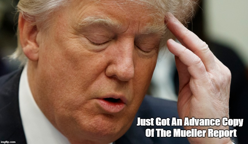 """Got An Advance Copy Of The Mueller Report"" 