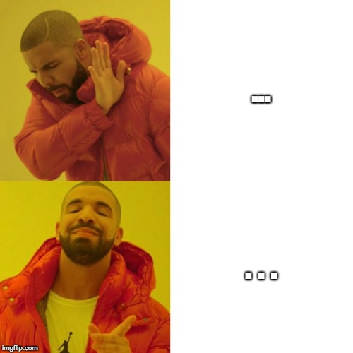"""..."" vs. "". . ."" 