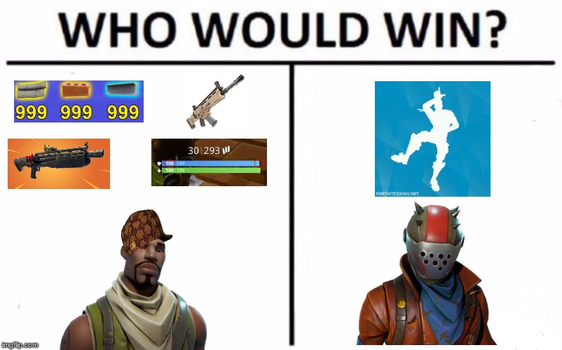 Who Would Win? Meme | image tagged in memes,who would win,scumbag | made w/ Imgflip meme maker