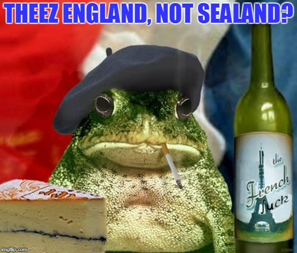 THEEZ ENGLAND, NOT SEALAND? | made w/ Imgflip meme maker