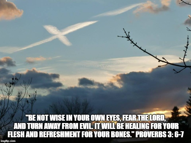 "Wisdom | ""BE NOT WISE IN YOUR OWN EYES, FEAR THE LORD, AND TURN AWAY FROM EVIL. IT WILL BE HEALING FOR YOUR FLESH AND REFRESHMENT FOR YOUR BONES."" PR 