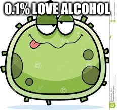 0.1% LOVE ALCOHOL | made w/ Imgflip meme maker