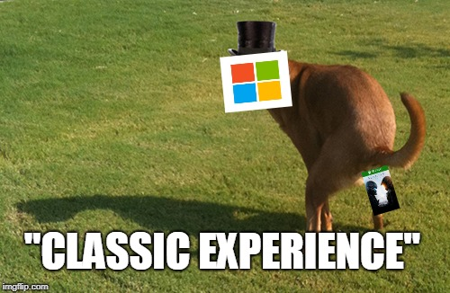 "Microshit | ""CLASSIC EXPERIENCE"" 