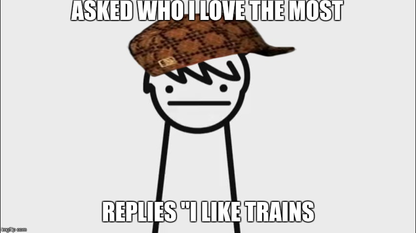 "I Like Trains Kid | ASKED WHO I LOVE THE MOST REPLIES ""I LIKE TRAINS 