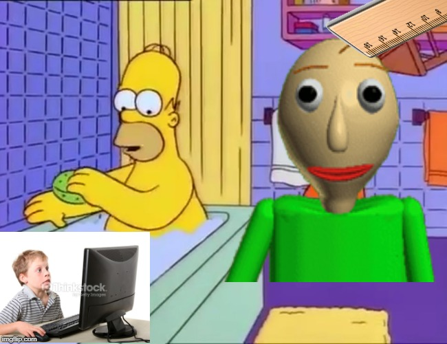 Bart hits Homer with chair | image tagged in bart hits homer with chair | made w/ Imgflip meme maker