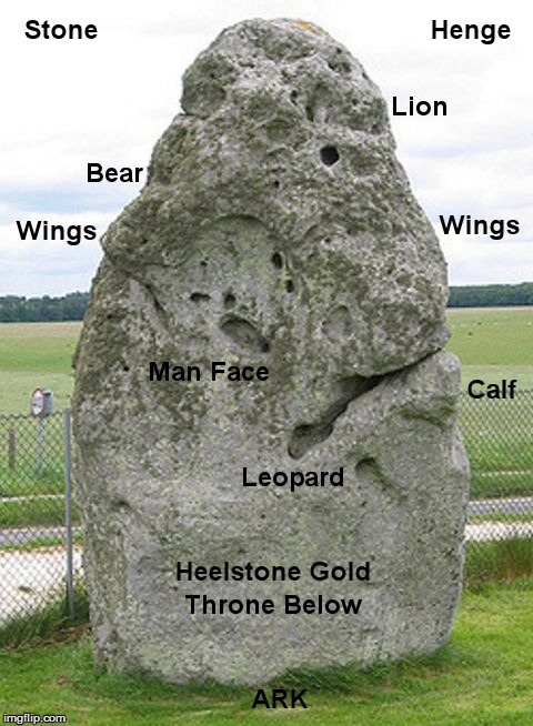 God is a Rock | image tagged in ark,covenant,heelstone,mishkan,stonehenge,tabernacle | made w/ Imgflip meme maker