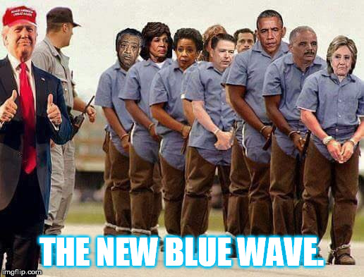 THE NEW BLUE WAVE. | image tagged in blue wave | made w/ Imgflip meme maker