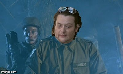 John Connor | image tagged in terminator | made w/ Imgflip meme maker