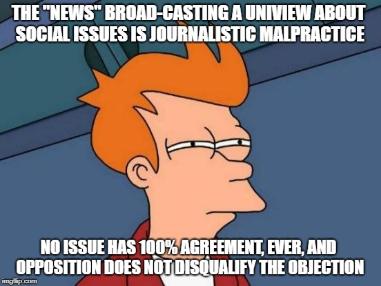 "Simmering resentment | THE ""NEWS"" BROAD-CASTING A UNIVIEW ABOUT SOCIAL ISSUES IS JOURNALISTIC MALPRACTICE NO ISSUE HAS 100% AGREEMENT, EVER, AND OPPOSITION DOES NO 