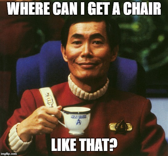 WHERE CAN I GET A CHAIR LIKE THAT? | made w/ Imgflip meme maker