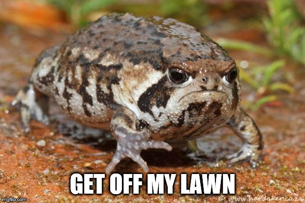 GET OFF MY LAWN | made w/ Imgflip meme maker