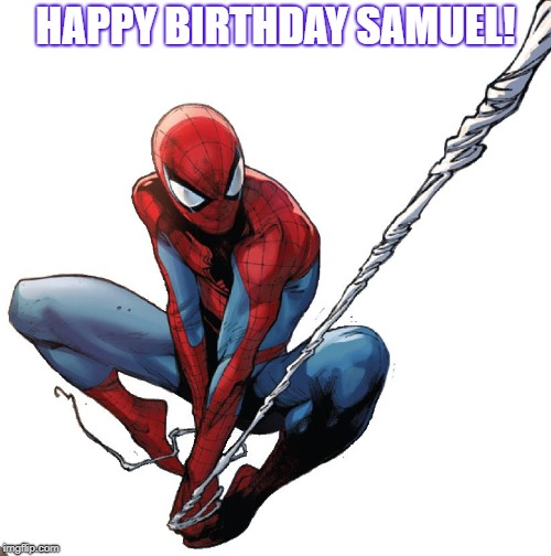 Spiderman Birthday Imgflip