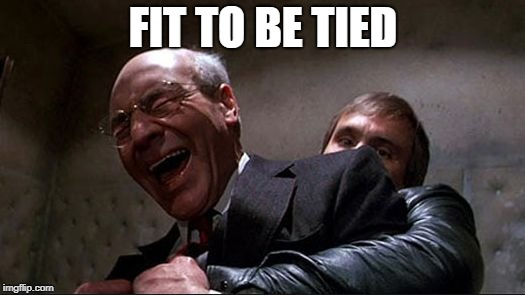 stewart | FIT TO BE TIED | image tagged in stewart | made w/ Imgflip meme maker