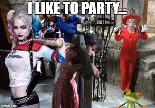 gilligan | I LIKE TO PARTY... | image tagged in gilligan | made w/ Imgflip meme maker