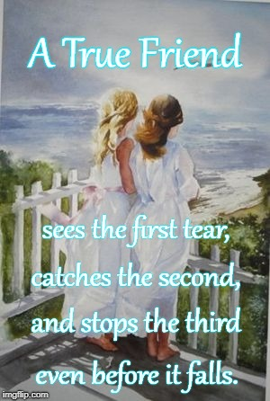 Tearless True Friend | A True Friend even before it falls. sees the first tear, catches the second, and stops the third | image tagged in see first tear,catches second tear,stops third tear,true friend | made w/ Imgflip meme maker