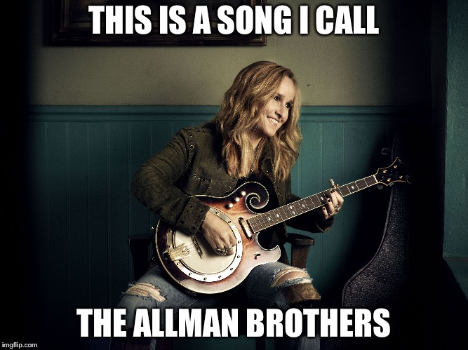 THIS IS A SONG I CALL THE ALLMAN BROTHERS | image tagged in me guitar | made w/ Imgflip meme maker