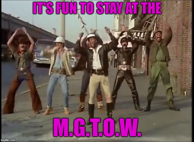 MGTOW Level: Expert | IT'S FUN TO STAY AT THE M.G.T.O.W. | image tagged in mgtow,ymca,village people | made w/ Imgflip meme maker