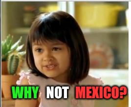 WHY MEXICO? NOT | made w/ Imgflip meme maker