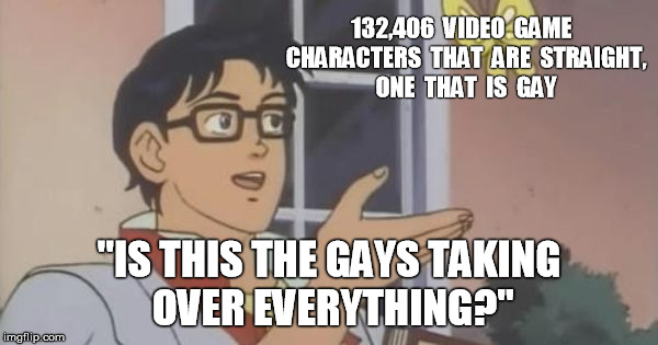 "is this a pigeon | 132,406  VIDEO  GAME  CHARACTERS  THAT  ARE  STRAIGHT,  ONE  THAT  IS  GAY ""IS THIS THE GAYS TAKING OVER EVERYTHING?"" 