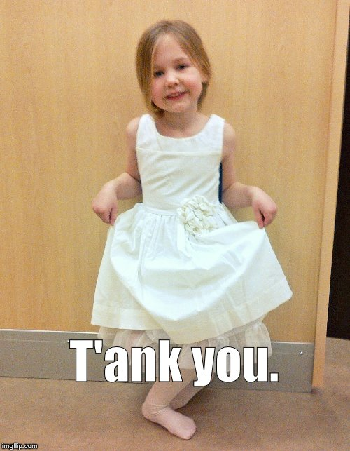 Tank you much | T'ank you. | image tagged in tank you much | made w/ Imgflip meme maker