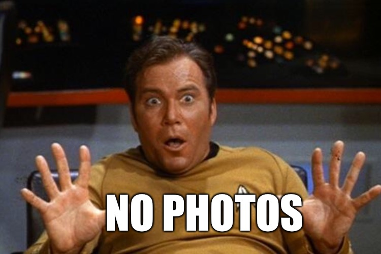 NO PHOTOS | made w/ Imgflip meme maker