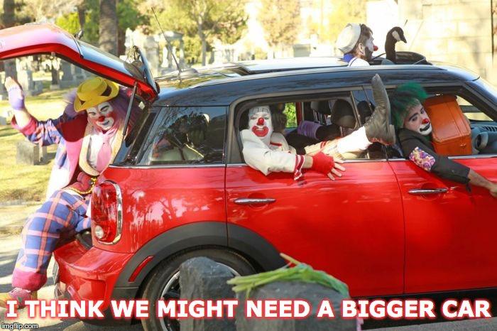 overcrowded car meme