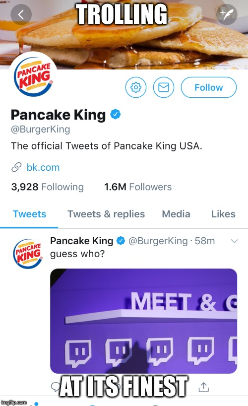 Trolling companies | TROLLING AT ITS FINEST | image tagged in ihop,ihob,troll | made w/ Imgflip meme maker
