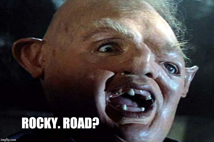 ROCKY. ROAD? | made w/ Imgflip meme maker