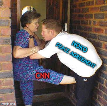MSM Influence On Negotiations | CNN PEACE AGREEMENT NOKO | image tagged in north korea,kim jong un,donald trump,nuclear,world peace,cnn fake news | made w/ Imgflip meme maker