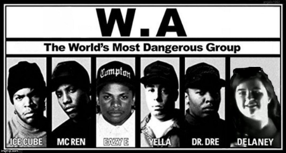 image tagged in nwa,rap,kendrick lamar,ice cube,dr dre,rapper | made w/ Imgflip meme maker