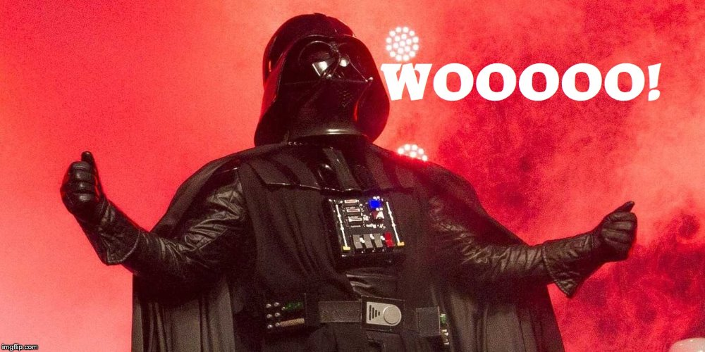 Ric Flair Darth Vader | image tagged in darth vader | made w/ Imgflip meme maker