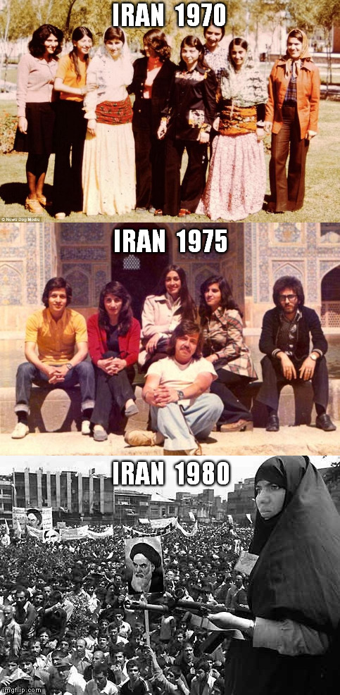 tell me what went wrong | IRAN  1970 IRAN  1980 IRAN  1975 | image tagged in memes,radical islam,islamic revolution,jimmy carter | made w/ Imgflip meme maker