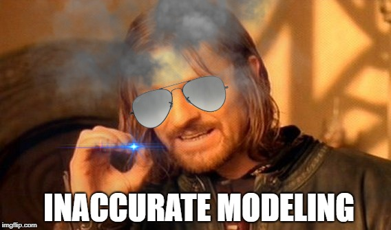 INACCURATE MODELING | made w/ Imgflip meme maker
