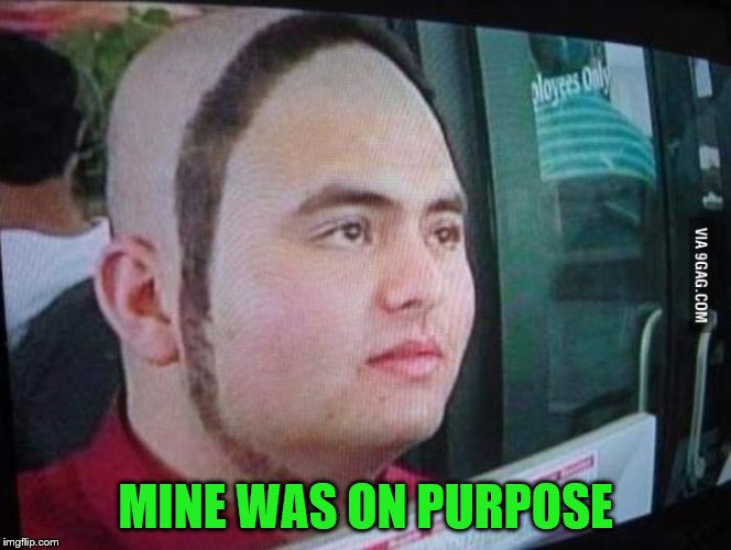MINE WAS ON PURPOSE | made w/ Imgflip meme maker